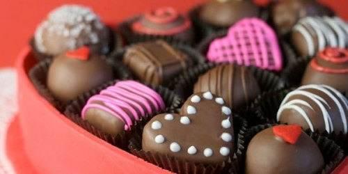 конфеты здоровое питание